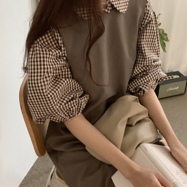 round check blouse